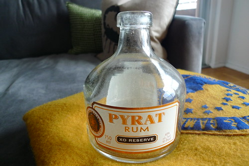 rum bottle (before)