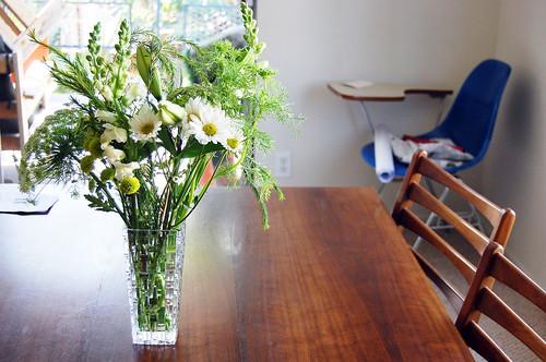 greenery + flowers