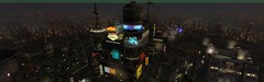 cyberpunk city (▓▒░ TORLEY ░▒▓) Tags: city game adult action system cyberpunk 154 mmorpg nomos 149 145 roleplay sgs secondlife:x=114 secondlife:y=215 secondlife:resident=torleylinden secondlife:z=176 mixoom secondlife:region=nomos