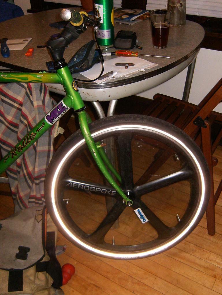 front wheel test