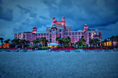 """Don Cesar"" Hotel Night Shot (thejeffreywscott) Tags: lowlight nightshot tampabay beachfront hdr stpetebeach stpetersburgbeach fancyhotel famoushotel luxuryhotel pinkhotel fastlens beachfronthotel donceasar oceansidehotel mywinners floridawestcoast floridahotel donceasarhotel"
