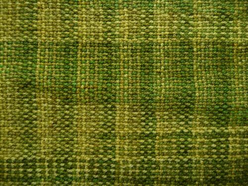 Spring scarf closeup