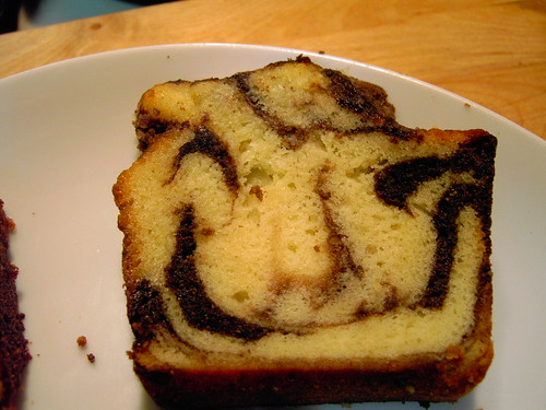 Crafty Marble Cake Face