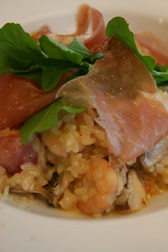 Porcini and Prawn Risotto