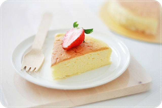 Japanese Soufflé Cheesecake