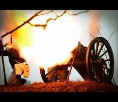 napoleoniada_3090 (volen76) Tags: nikon shot boom cannon napoleon bonaparte bitwa 1807 55200mm rekonstrukcja armata jonkowo inscenizacja d40x wystrzał napoleoniada smsls