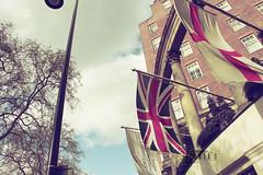 Sunny Day.. (- M7D . S h R a T y) Tags: uk england sky london cloudy unitedkingdom britain flag british london2010 allrightsreserved wordsme