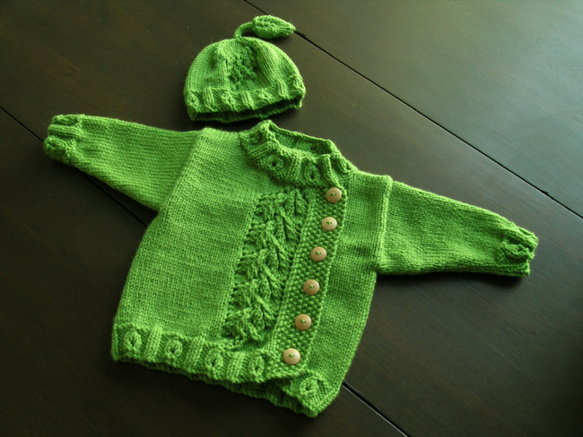 Knit*Six: Sweet Pea Pod Cozy (free pattern)