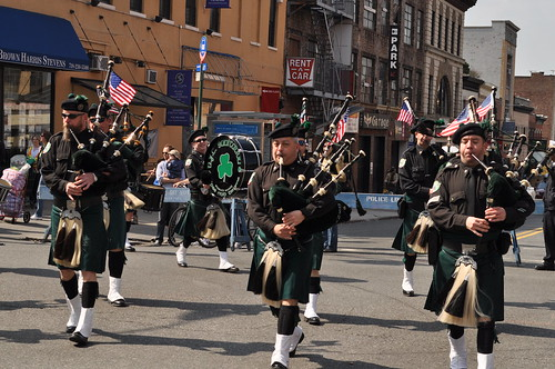 NYC Sanitation Bagpipers