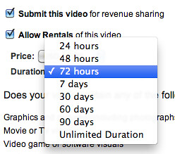 Testing YouTube Rentals