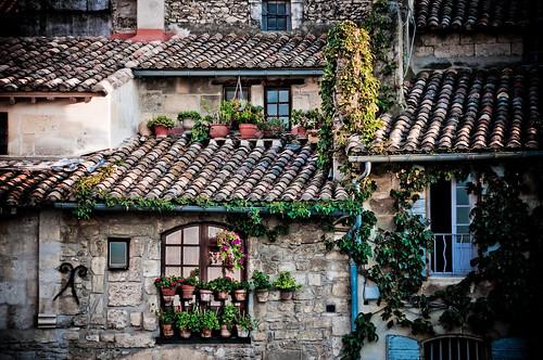 Rooftops in Arles, France