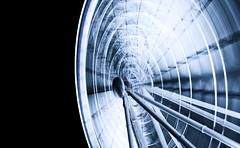 Spinning Wheel (S.H. Photography) Tags: blue eye tower wheel skyline night skyscraper canon lens big long australia brisbane queensland kit riesenrad hochhaus objektiv bulilding