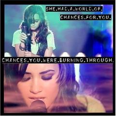 World of Chances-Demi Banner (ShaiAshley) Tags: world go banner here we again demi blend chances lovato