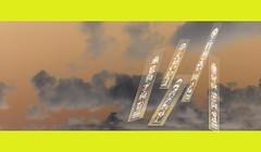 Sky copy (Manco-poncho-photo) Tags: windows sky clouds stainedglass abstact