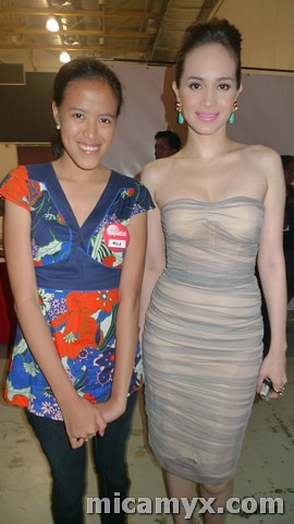 With Ms. Lucy :)