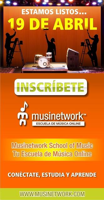 Este 19 De Abril estamos listos para que comiences en Musinetwork by Musinetwork