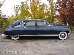 1949 Packard Custom 8 Limousine (Sunset Classics) Tags: auto blue classic car forsale president luxury rare limousine 1949 packard harrytruman autoglamma custom8 customeight