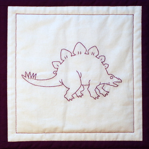 purple stegosaurus