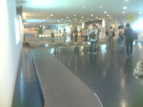 Baggage reclaim carousel