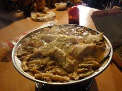 龍山寺夜市その4臭豆腐鍋