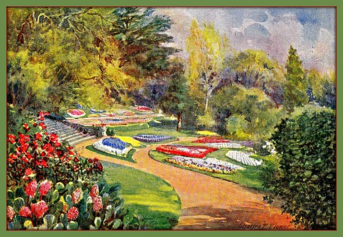 The English Garden 1910 walk