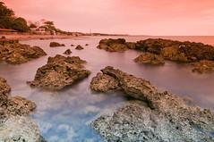 Rocky Sunset (B2Y4N) Tags: longexposure sunset rocks sanjuan launion seashore b2y4n bryanrapadas