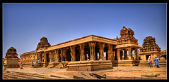 Krishna Temple, Hampi (Mukul Banerjee (www.mukulbanerjee.com)) Tags: india history tourism temple photo ancient nikon ruins asia pics images tourist photographs dslr karnataka palaces bharat hampi southindia vijayanagar d60 northkarnataka historicalindia krishnadevaraya nikond60 vijayanagara indianheritage hindusthan vijayanagarkingdom bymukulbanerjee mukulbanerjee mukulbanerjee mukulbanerjeephotography mukulbanerjeephotography wwwmukulbanerjeecom