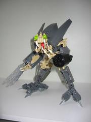 Creature of War: Model #001 (Five Fives) Tags: lego bio system technic agency creature bionicle claws moc 55555 creaion mechanicle kanoka94