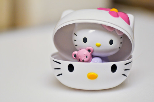 Hello Kitty Easter Basket. I ordered an Easter basket off