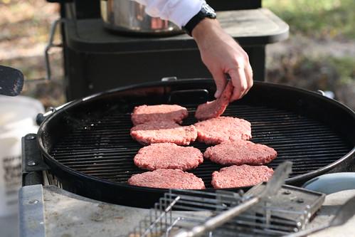 burgers at Dad's