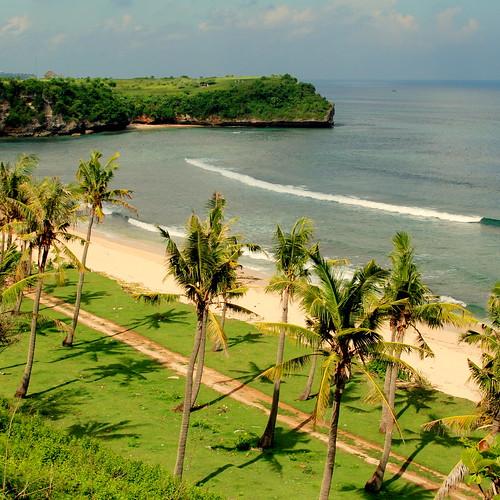 Flowerbud Bungalows, Balangan Beach, Bali, Indonesia