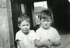 Image titled Eddie Ledger and George Weir 62 Lamlash Crescent Cranhill 1959