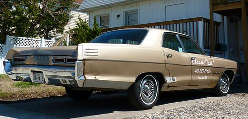 1966 Pontiac Star Chief Executive. Scene in Ocean City, Maryland.