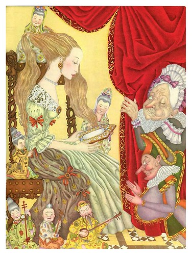 008-La serpiente verde-The Fairy Tale Book-Adrienne Segur