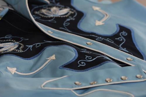 03-30-2010 Vintage H-bar-C Ranchwear Western Shirt