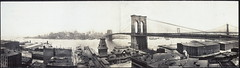 New York & bridges from Brooklyn (LOC) (The Library of Congress) Tags: city newyorkcity railroad bridge urban panorama newyork industry brooklyn train waterfront brooklynbridge eastriver libraryofcongress warehouses 1913 newyorkbay gelatinsilverprints panoramicphotographs xmlns:dc=httppurlorgdcelements11 irvingunderhill dc:identifier=httphdllocgovlocpnppan6a36553