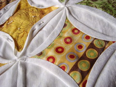 Cathedral Window in Mod fabrics