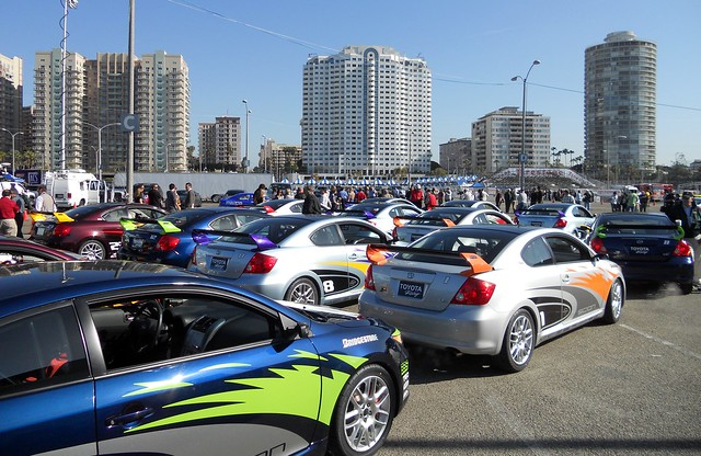 Toyota Grand Prix of Long Beach, Celeb Practice