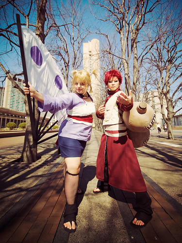 gaara of sand. Temari and Gaara, the Sand
