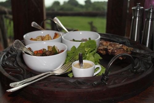Hot Dinner after safari