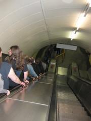 Post-gig escalator (jonanamary) Tags: london royalalberthall gig opeth