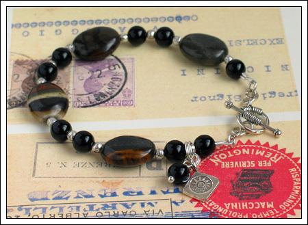 Banded jasper bracelet