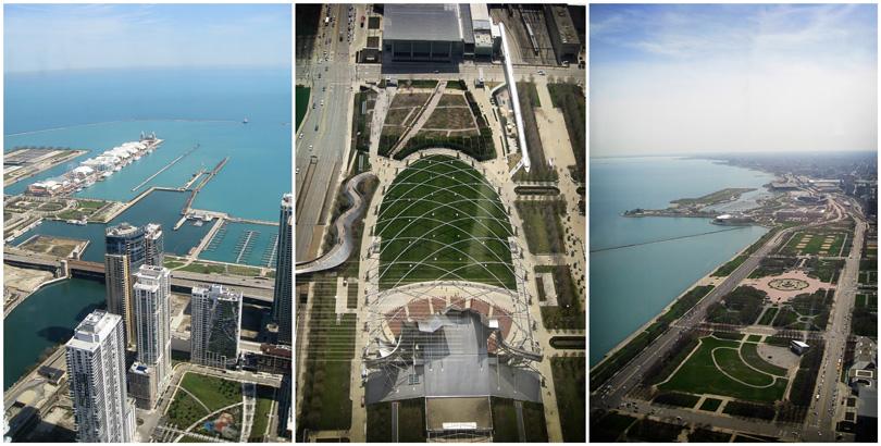 Navy Pier, Millenium Park & Grant Park