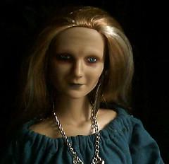Haggaia, the Forest Witch 3 (~ Liana77 ~) Tags: old white lady hair doll witch velha redhead 16 aged boneca waitress straight custom streaks maryjane cabelo senhora ruiva bruxa mechas tonner repaint brancas customizar liso