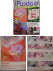 PAP Vasinho (Da Bia) Tags: flores revista flor vaso pap arranjo passoapasso vasinho