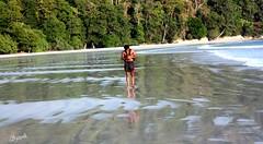 Walking on water (keedap) Tags: india beach asia honeymoon deepak deep virgin kanu havelock andaman sharma keerti besr radhanagar mygearandme rememberthatmomentlevel1