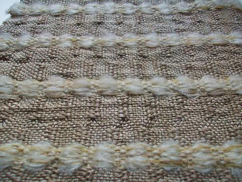 mohair linen texture contrast
