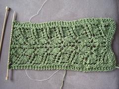 leafy scarf