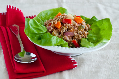 Bulgur Salad with Roasted Vegetables-1