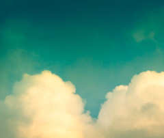 ~ a heart in the clouds. [Explore] (CarolynsHope) Tags: blue sky cloud white nature colors clouds evening nikon colorful heart d70 turquoise teal shape tones cloudboobs